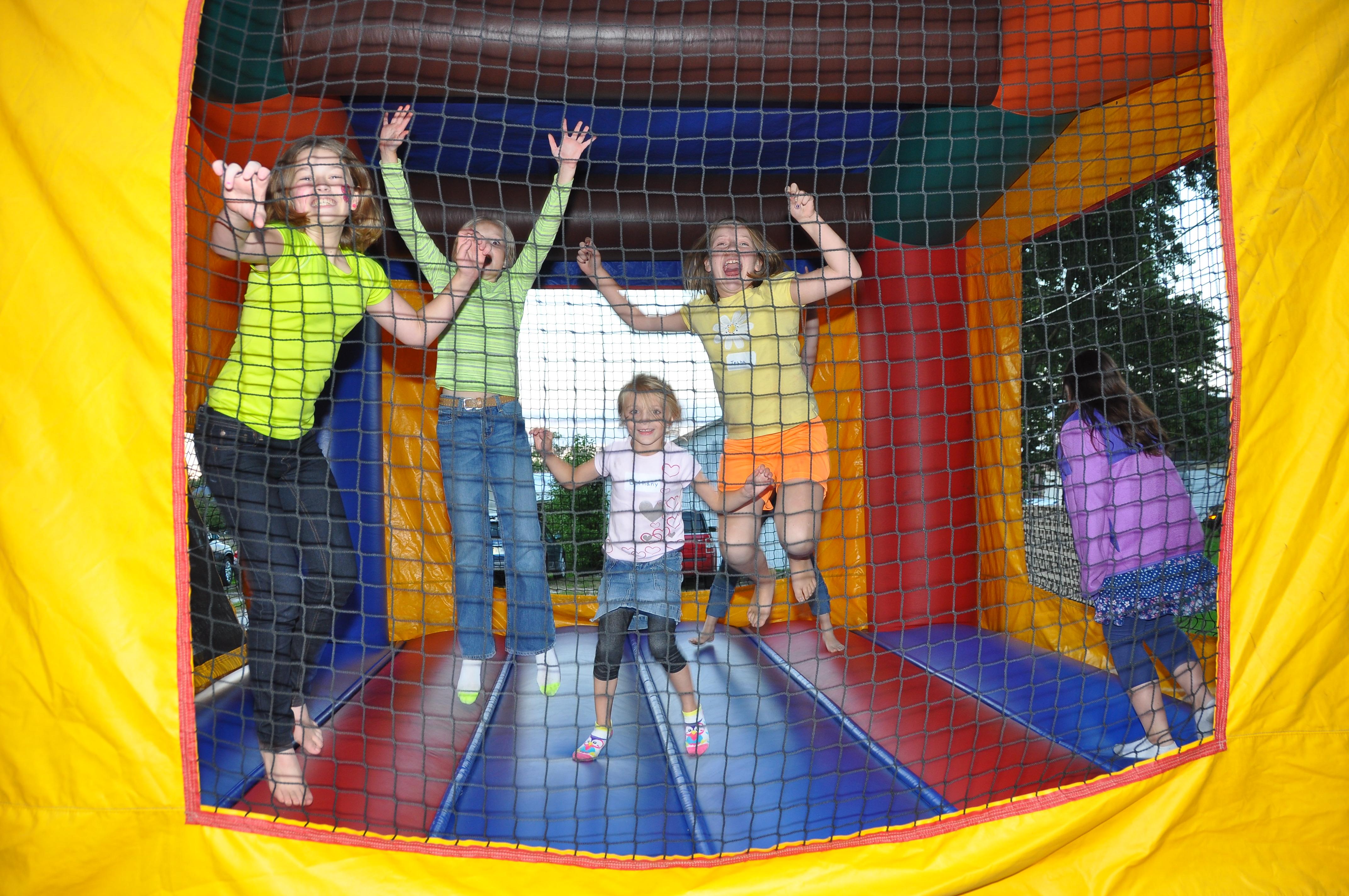 Oasis Kick-Off Carnival — bouncy house fun